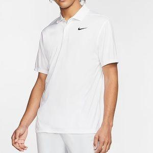 Nike Dri-Fit White Men's Victory Golf Polo